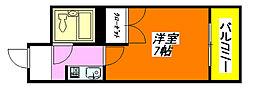 マリオン・コート 301号室[3階]の間取り