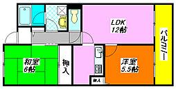 メゾン・パルフェート 403号室[4階]の間取り