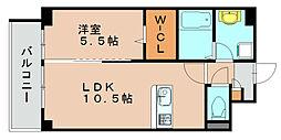 プレミアムワン[3階]の間取り