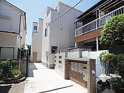 東京都葛飾区堀切5の賃貸アパートの外観
