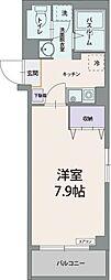 静岡県三島市末広町の賃貸マンションの間取り