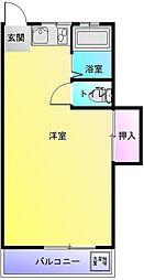 グランキューブ[3階]の間取り