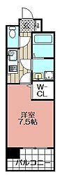 エンクレスト博多駅東(1207)[1207号室]の間取り