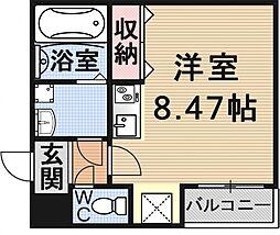 (仮)御陵鳥ノ向町アパート[102号室号室]の間取り