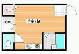 ビルシャナ上田[3階]の間取り