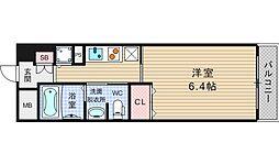 ルナコート江戸堀[7階]の間取り