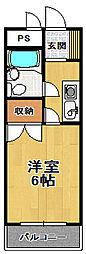 河村マンション[2階]の間取り