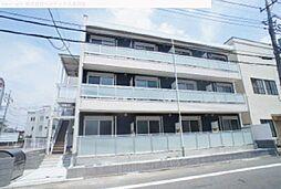 埼玉県蕨市錦町の賃貸マンションの外観