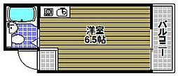 サンビーム長野[2階]の間取り