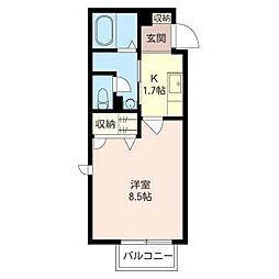 GREEN ROOF[1階]の間取り