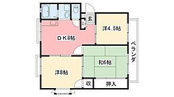 サニー戸崎[1階]の間取り