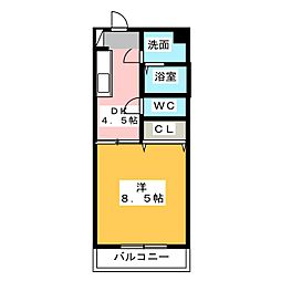 梅の里I[2階]の間取り