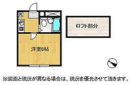 シティパレス鴻巣3[2階]の間取り