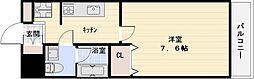 ベストレジデンス八尾[2階]の間取り