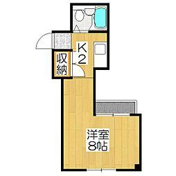 ハウス50[2-G号室]の間取り