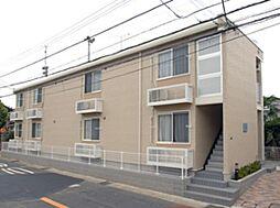 千葉県市川市原木1丁目の賃貸アパートの外観