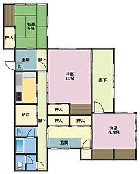 [一戸建] 神奈川県横浜市鶴見区馬場3丁目 の賃貸【/】の間取り