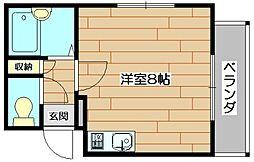 アニバ−サリ−[3階]の間取り