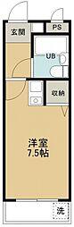 煉瓦館6[106号室号室]の間取り