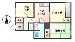 メゾン伊藤[2階]の間取り