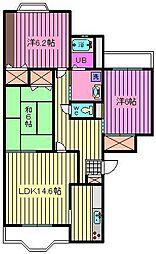 ENOUマンション[2階]の間取り