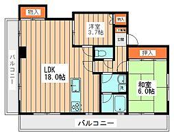 欅マンション[3階]の間取り