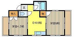 寺尾サイトーハウス[2階]の間取り
