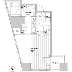ドゥーエ向島II[0401号室]の間取り