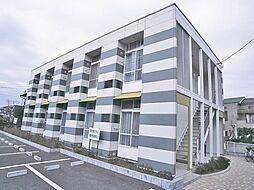 千葉県市川市稲荷木2丁目の賃貸アパートの外観