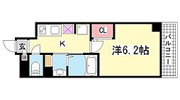 メゾンエスプリ生田[5階]の間取り