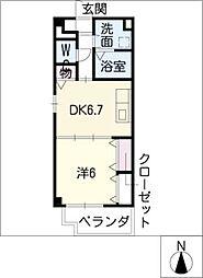 センチュリーパーク新川1番館[6階]の間取り