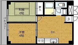 第2石井ビル[501号室]の間取り