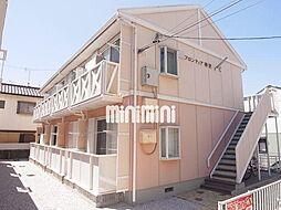 フロンティア神沢C棟[2階]の外観