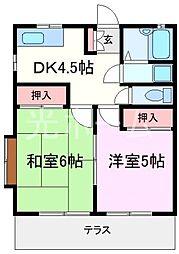 小宮アパート[1階]の間取り