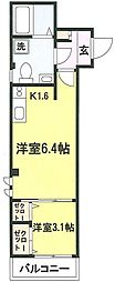 レルム頼3[3階]の間取り
