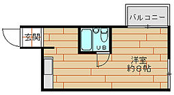 ハイムTT[2階]の間取り