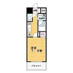 S−FORT住道[10階]の間取り