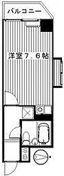 ライオンズマンション前橋 201号 分譲[201号室号室]の間取り