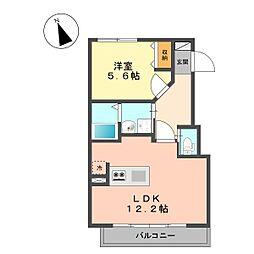 仮称北小岩1丁目新築アパート[302号室]の間取り