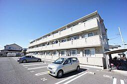 茨城県つくばみらい市陽光台2丁目の賃貸アパートの外観