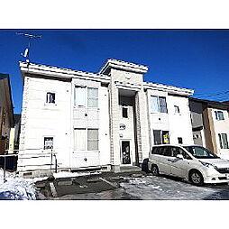 北海道苫小牧市明野新町4丁目の賃貸アパートの外観