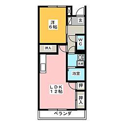 第2ANNEX[2階]の間取り
