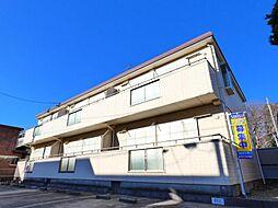 千葉県千葉市花見川区長作台2丁目の賃貸アパートの外観