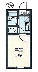 イル川崎大師[104号室]の間取り