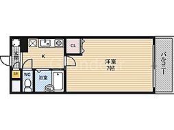 キャッスルコート[4階]の間取り