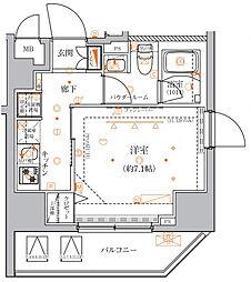 クレイシア入谷竜泉〜CRACIA IRIYA RYUSEN〜[11階]の間取り