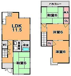 木幡駅 7.0万円