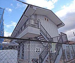 京都府京都市北区大宮一ノ井町の賃貸アパートの外観