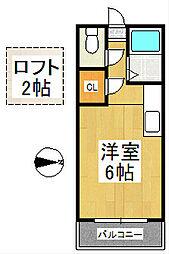 デェイジーⅠ[1階]の間取り