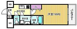 ETC福島[7階]の間取り